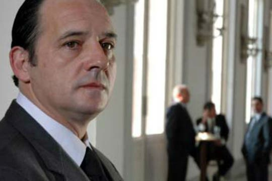 Como Rubén en El custodio, película de Rodrigo Moreno. Foto: Archivo