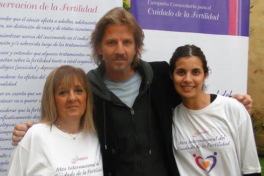 Solidario. Facundo Arana siempre suma su granito de arena en las causas solidarias.