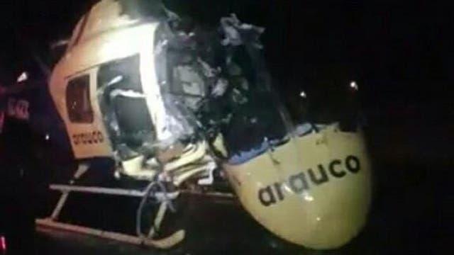 Queman dos helicópteros y más iglesias a pocas horas de la misa del Papa en la Araucanía