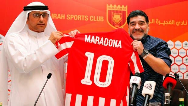 Maradona un nuevo desafio