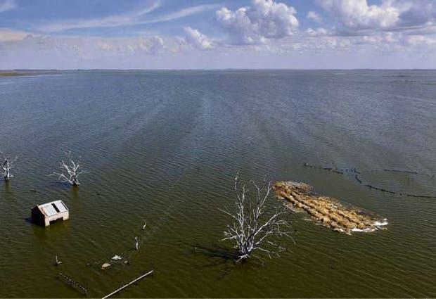 La laguna creció 35 veces desde 1985