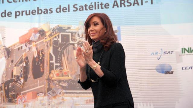 La ex presidenta, Cristina Kirchner, en 2013