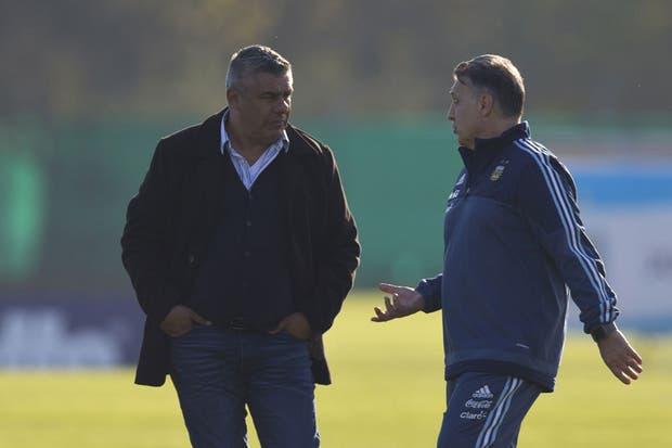 Martino renunció en una reunión con Tapia