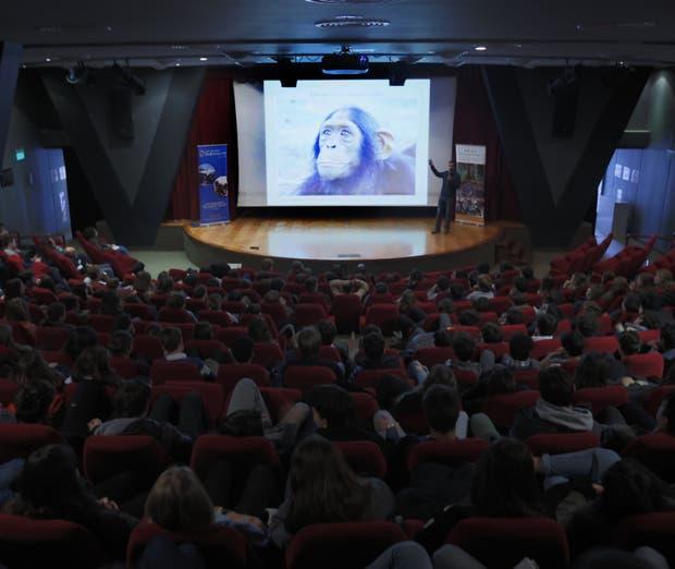 Fernando Turmo en el Liceo Mermoz