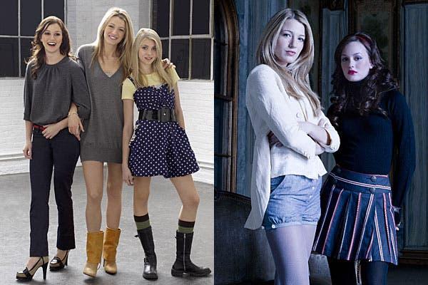Algunos de los looks de la primera temporada que se grabó en 2007.