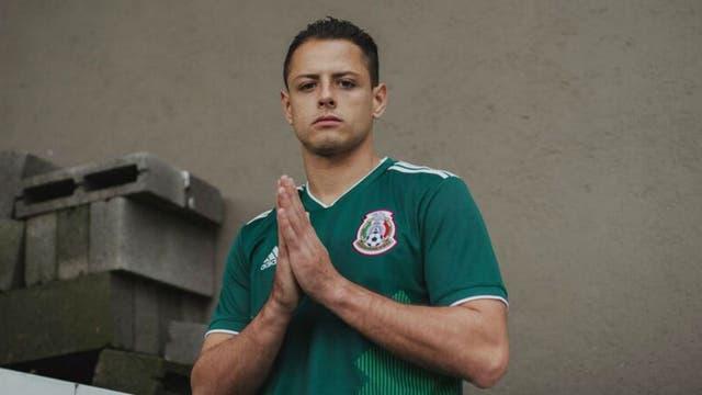 La camiseta de México