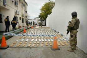 Los 2608 kilos de marihuana fueron secuestrados en Corrientes