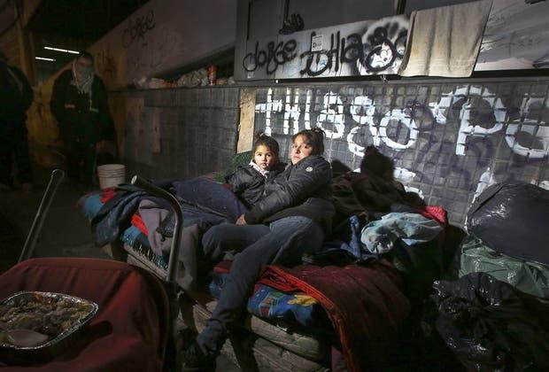 Carla y su hijita viven a metros de Rodríguez Peña y Paraguay