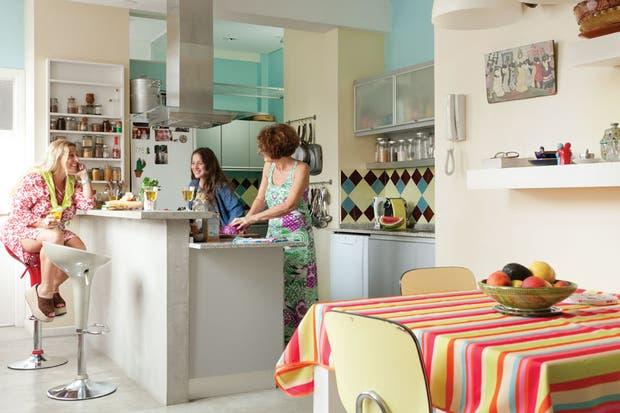 Solución 368: ideas para decorar una cocina con comedor integrado ...