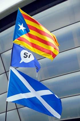 Escocia respalda la puja por la independenca en Cataluña