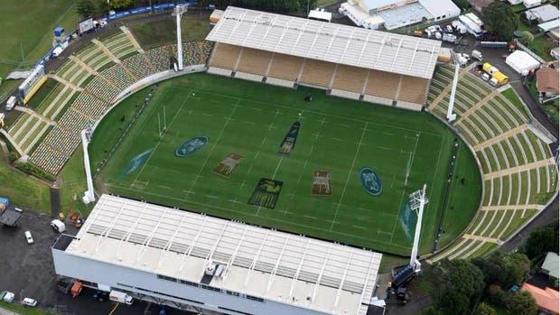 Una vista aérea del Yarrow Stadium