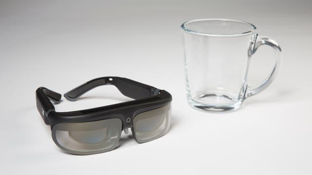 Los anteojos de realidad aumentada de ODG, con un chip Snapdragon 835 en su interior
