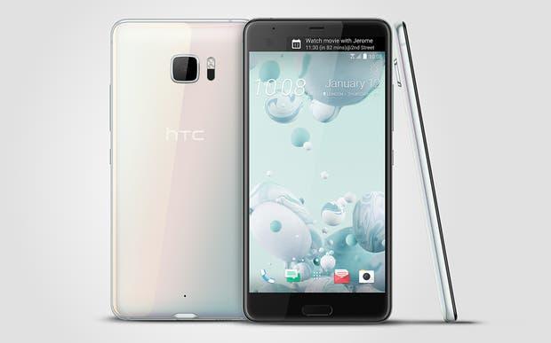 El HTC U Ultra y sus dos pantallas frontales