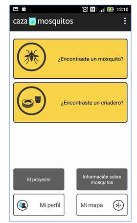 La interfaz de la nueva aplicación