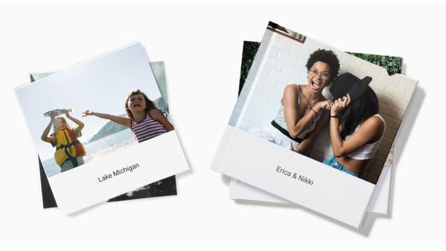 Los álbumes impresos de fotos de Google