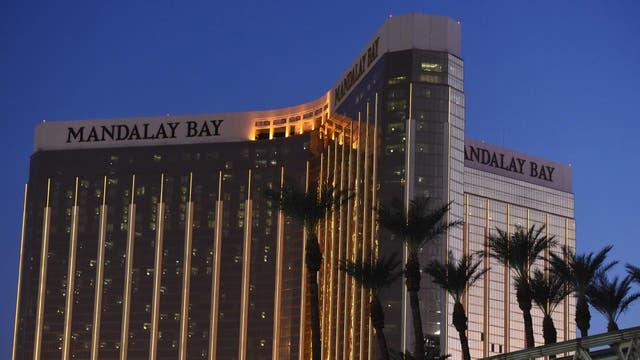 El Mandala Bay de Las Vegas desde donde disparó Paddock