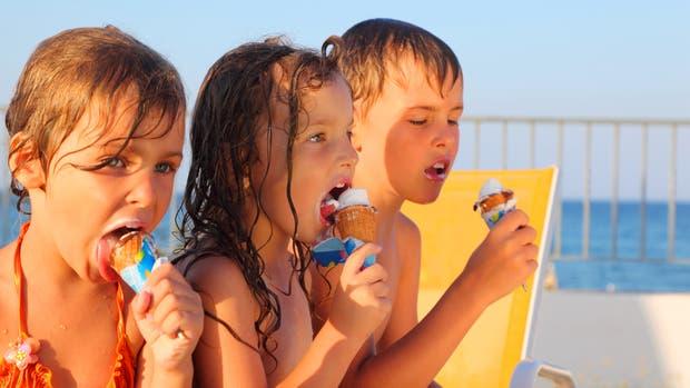 Las frutas están en su mejor momento, pero elegimos helados