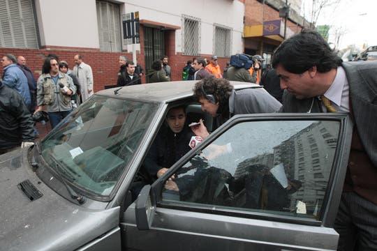 Varios conductores fueron detenidos por cometer diferentes tipos de infracciones. Foto: LA NACION / Miguel Acevedo Riú