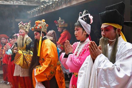 El Año Nuevo Lunar comienza el 3 de febrero y marca el inicio del Año del Conejo, de acuerdo con el zodiaco chino. Foto: Reuters