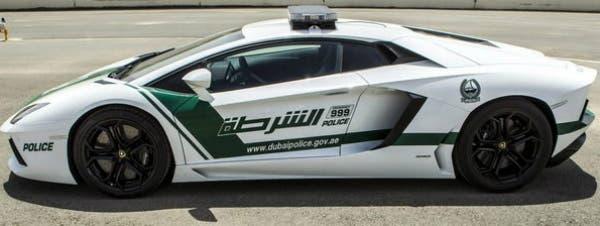 Dubai pondrá en las calles a coches policiales Lamborguini Aventator valuados en 450.000 euros cada uno