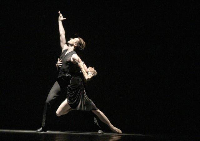 Una escena de Tango, que el Ballet Estable del Colón presentará en Asia esta semana