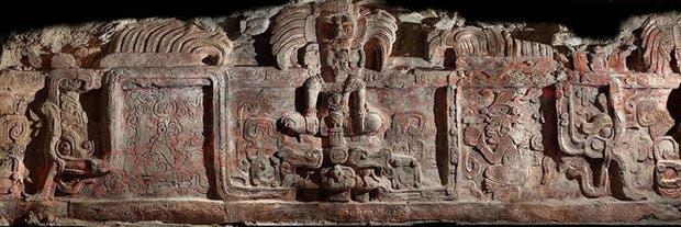 Se trata del friso mejor preservado de la cultura maya