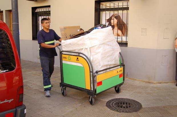 Nuevo carro de recolección de residuos