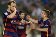 Barcelona le ganó a Betis con dos asistencias de Messi y sigue en la cima