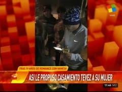La propuesta de Tevez