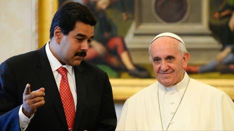 Maduro y el Papa en El Vaticano