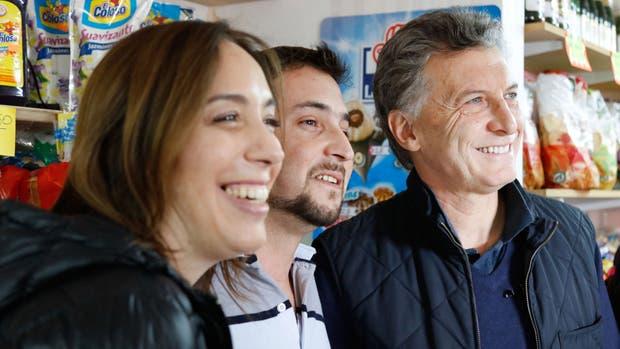 Macri y Vidal recorrieron Lobos