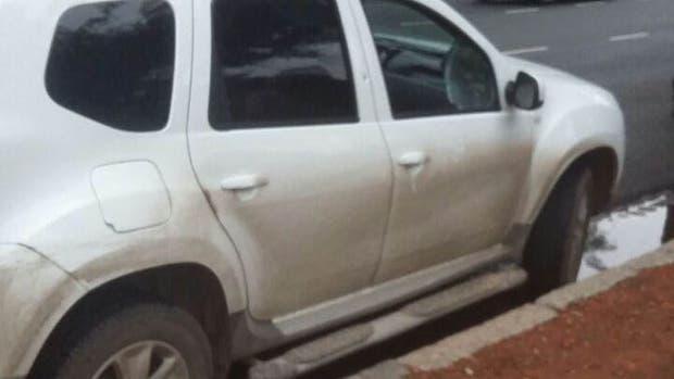 Los ladrones intentaban asaltar a un conductor