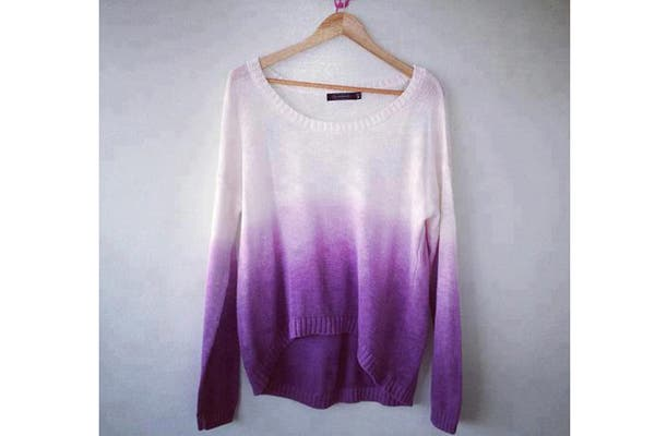 Sweater degradé (desde $200 apróx).