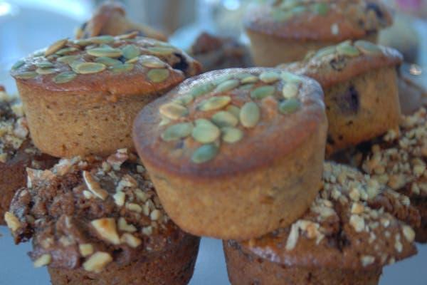 Los muffins, otro obligatorio a la hora del té. Foto: gentileza Alguito