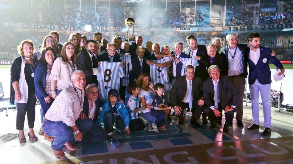 El homenaje de los 50 años de la Copa del Mundo del ´67. Foto: FotoBAIRES