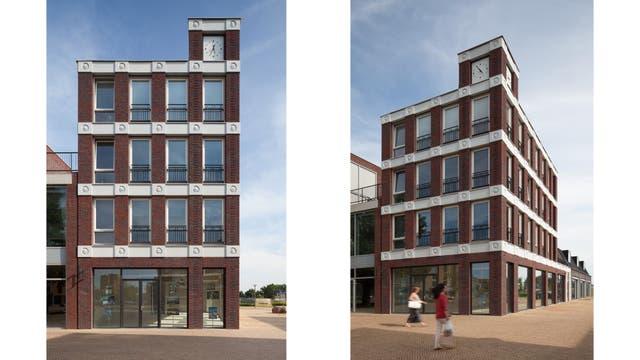 El edifico con emojis construido en Amersfoort, Holanda