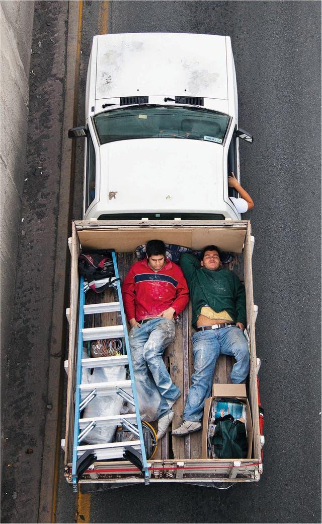 Alejandro Cartagena, de la serie Carpoolers