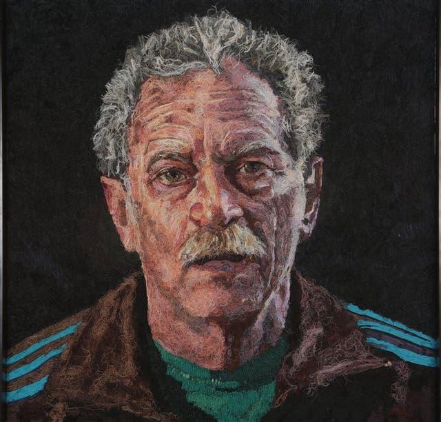 RETRATO DE FOGWILL. La obra de Mondongo fue cedida en préstamo a la colección del Museo Nacional de Bellas Artes
