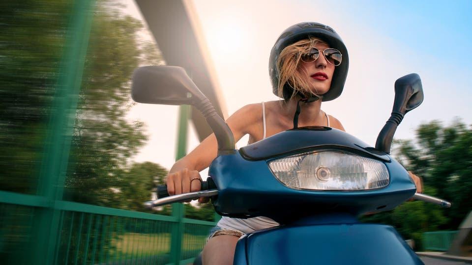 La posibilidad de moverse por el tránsito y de ahorrar tiempo de viaje, dos de los motivos