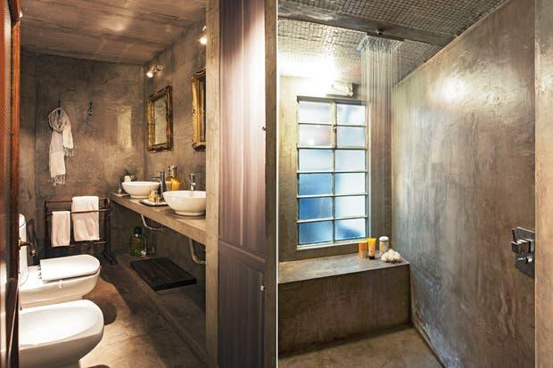 Un material de bajo costo y que da un efecto rústico es el ya conocido cemento alisado.  Foto:Living /Archivo LIVING