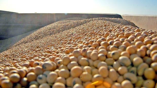 Rueda negativa para el valor de la soja en Rosario