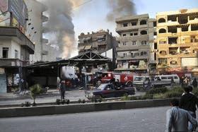 En el suburbio atacado viven mayoría de drusos y cristianos