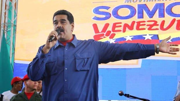 Nicolás Maduro reaccionó con furia al paro nacional