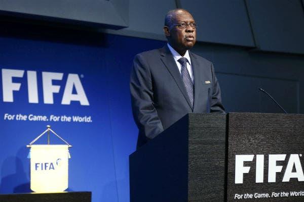 Issa Hayatou, presidente interino de FIFA