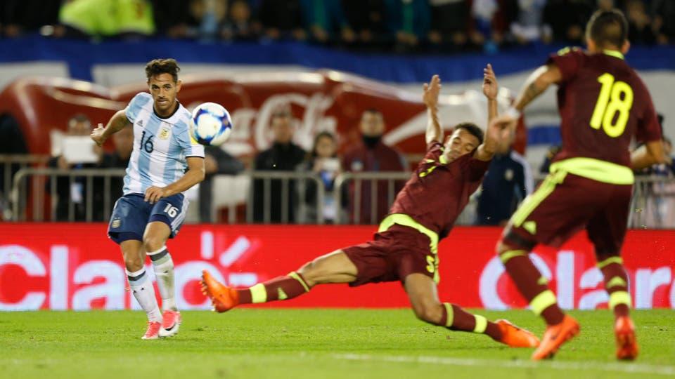 El 5 de octubre enfrentará a Perú, será en Buenos Aires; no hay margen para el error. Foto: LA NACION / Rodrigo Néspolo