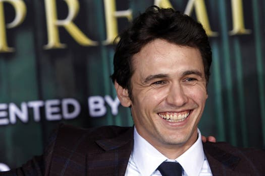 "La sonrisa de James en la premiere de ""Oz the Great and Powerful"", en Hollywood / REUTERS."
