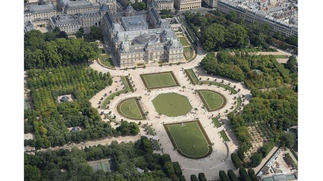 Vista aérea del Senado de Francia