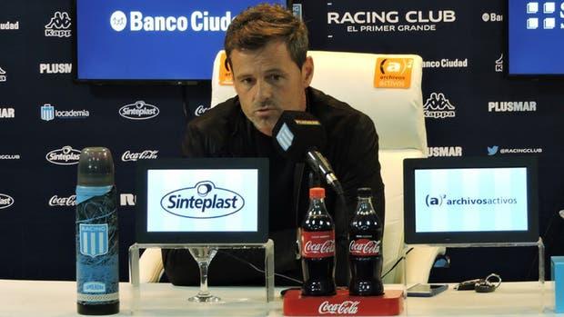 Diego Cocca sostuvo que Licha podría jugar ante Temperley