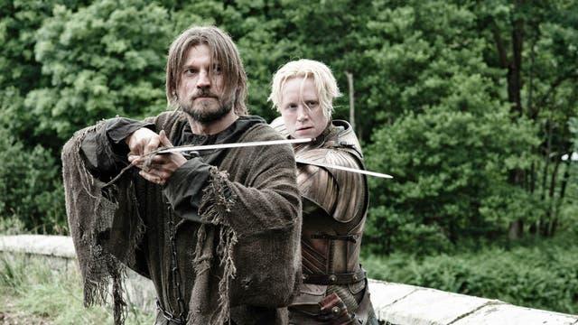 En la tercera temporada de la serie, Nicolaj y Gwendolie compartieron muchas escenas