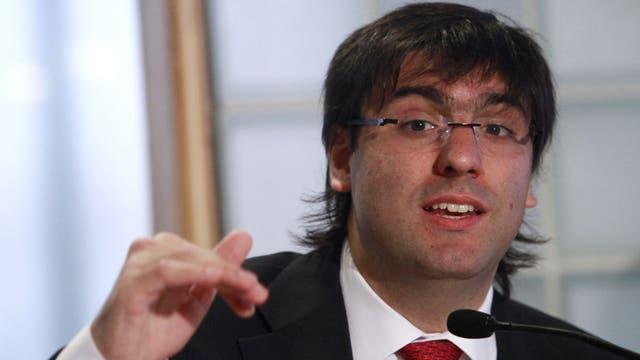 El diputado Diego Bossio (Frente Renovador)